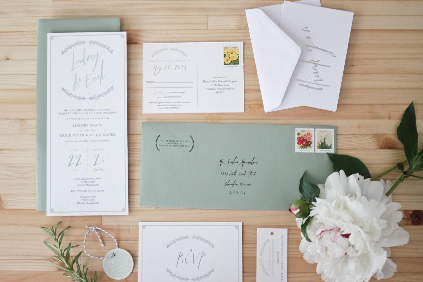 Update: Our Wedding Invitation Photoshoot | Gallerie Q creative boutique